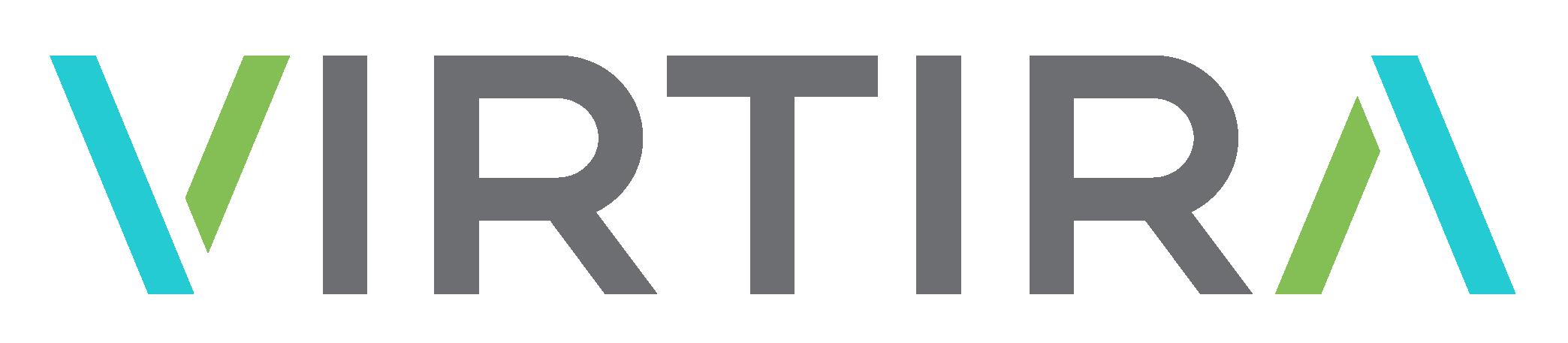 Virtira Logo - Horizontal - Grey-1